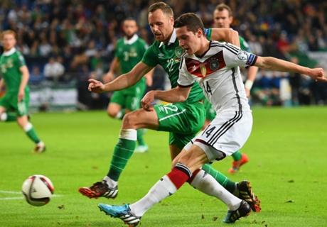 Eliminatorias: Alemania 1-1 Irlanda