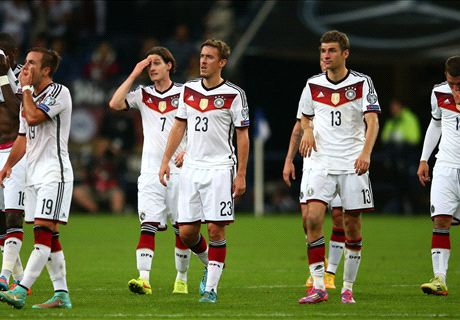 Germany in need of WC hangover cure