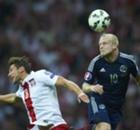 Poland 2-2 Scotland: Milik saves draw