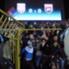 Die serbischen Fans waren gegen Albanien kaum im Zaum zu halten