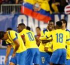 El Salvador 1-5 Ecuador: Plata brace