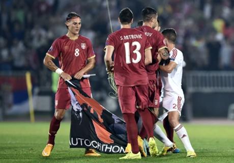 UEFA se expidió tras escándalo de Belgrado
