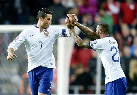 Euro 2016 : Ronaldo, Keane et Chiellini dans le onze de la semaine !