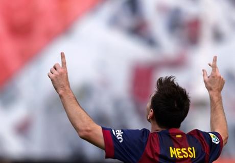 Messi the record breaker