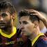 Neymar Lionel Messi Real Madrid Barcelona Copa del Rey 04162014