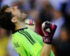 Liverpool, Casillas sur les tablettes