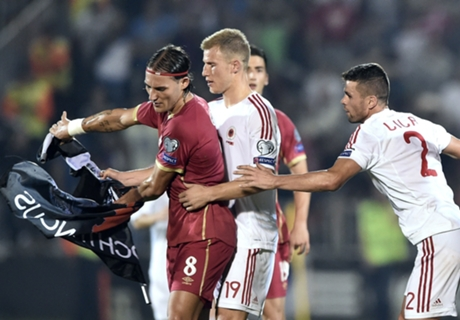 UEFA charges Serbia and Albania
