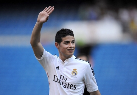 'James can challenge Messi & Ronaldo'