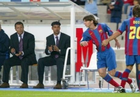 GALERÍA: Diez años de Messi
