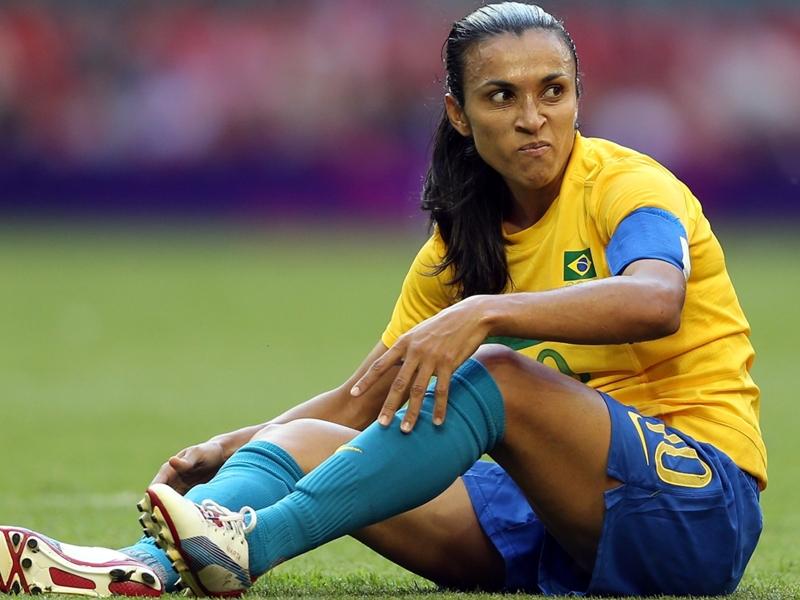 Marta é indicada a prêmio de melhor do mundo da Fifa