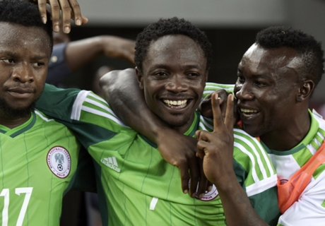 Eagles land in Uyo for South Africa