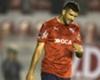 Malas en Independiente: Gigliotti deberá ser operado