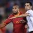 Adriano con la maglia della Roma, sua ultima avventura italiana