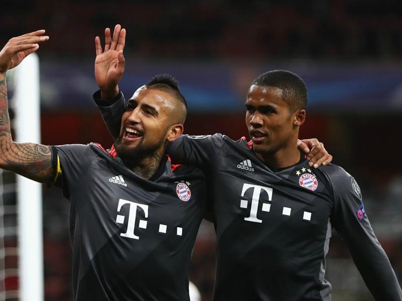 Costa returns to Bayern Munich training