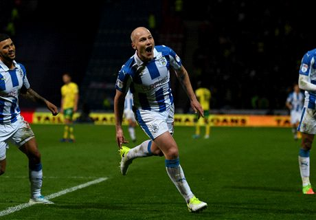 Mooy scores for Huddersfield