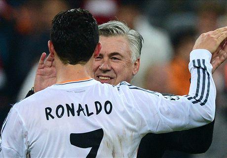 Ancelotti ferme la porte à Cristiano Ronaldo