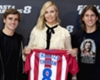 Griezmann mingles with movie stars