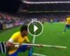 ► Jara y Neymar protagonizan viral
