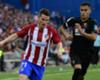 Real-Atlético, Gameiro forfait