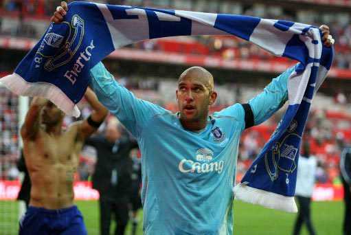 Everton's Tim Howard, man of the moment for saving ...