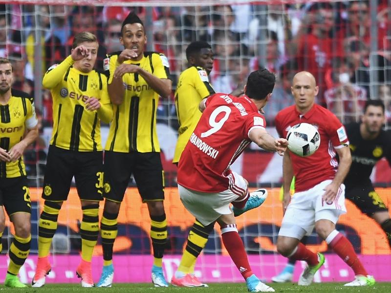 Bayern Munich 4 Borussia Dortmund 1: Robben and Ribery seal Klassiker win