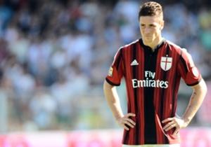 Milan striker Fernando Torres