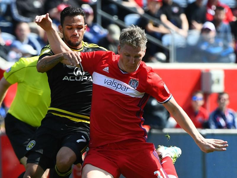 Schweinsteiger keeps impressing teammates as he helps lead Fire to victory