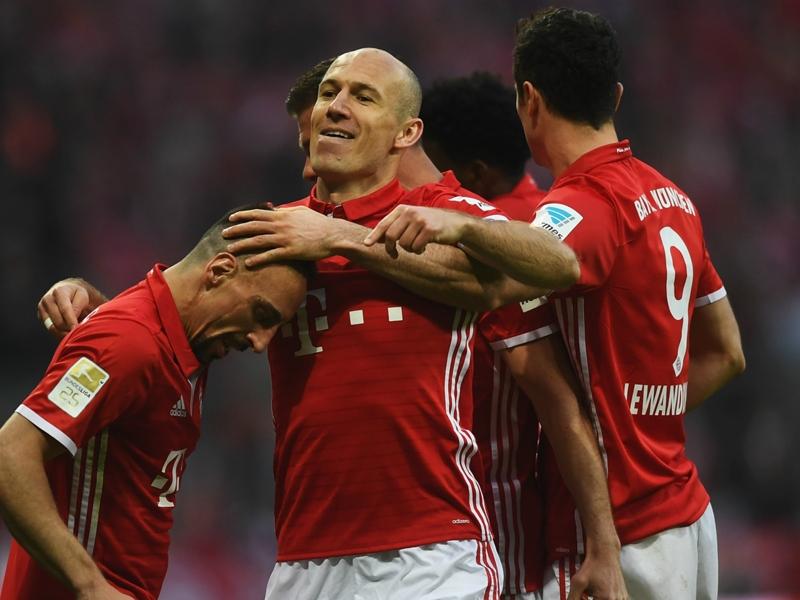 Robben: Bayern gave Dortmund no chance