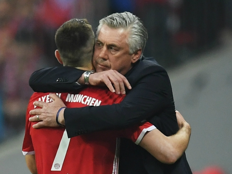 'Ancelotti is a great kisser!' - Bayern star Ribery welcomes belated birthday gift from boss