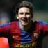 Leo Messi, en un partido de Champions de hace unas temporadas