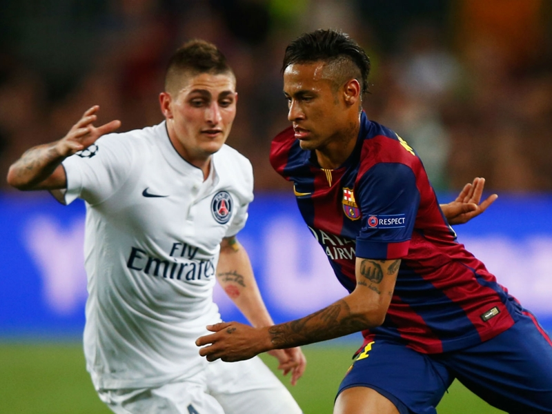 Barcelona target Verratti wants to play with Neymar, but at Paris Saint-Germain