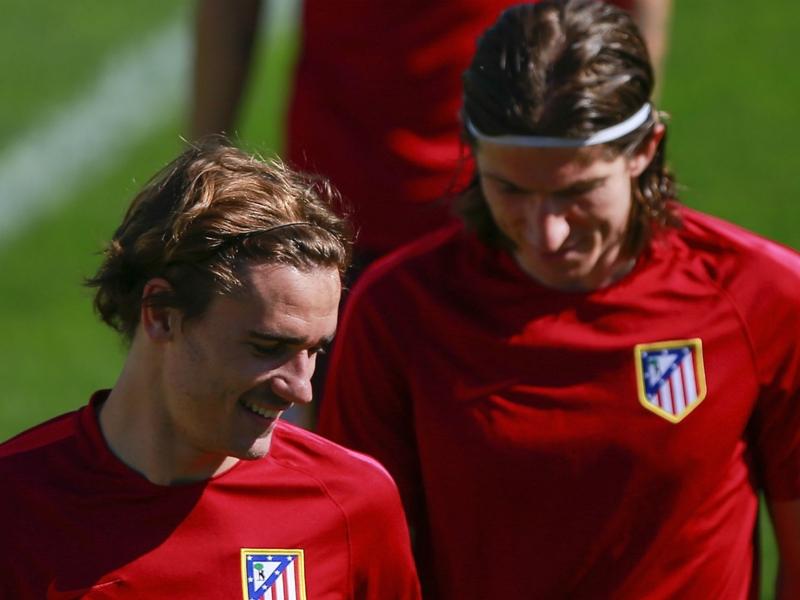 """Atlético Madrid - Filipe Luis : """"Griezmann est bien meilleur que le reste de l'équipe"""""""