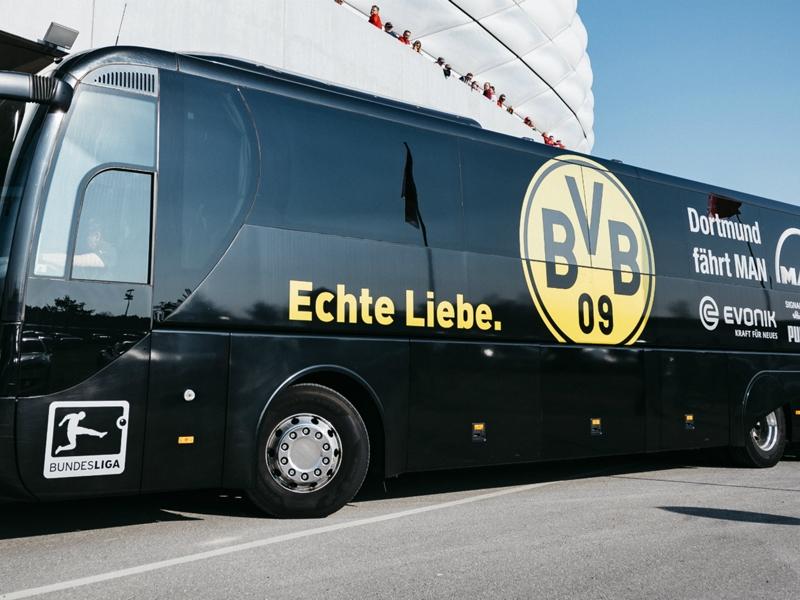 Bartra injured in explosion near Borussia Dortmund bus ahead of Monaco clash