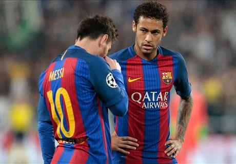 'Neymar left Barca because he was behind Messi'