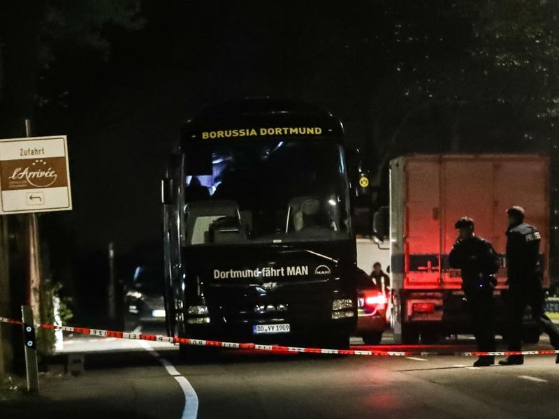 Infantino and Ceferin condemn alleged attack on Borussia Dortmund team bus