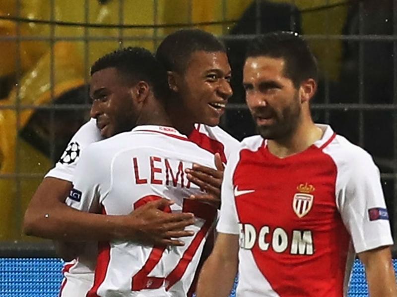 Monaco wonderkid Mbappe sets stunning Champions League record in fine Dortmund display
