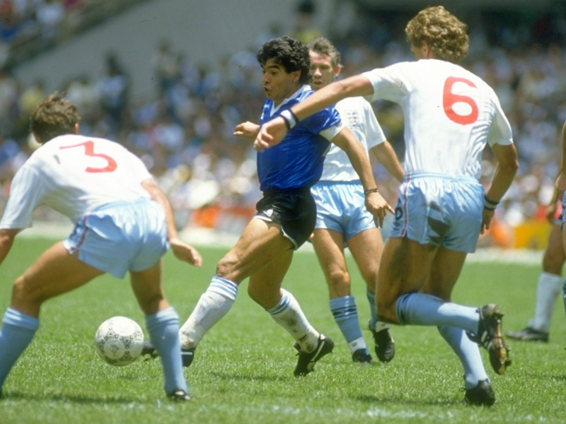 Diego Maradona & the Hand of God: The most infamous goal in World Cup history