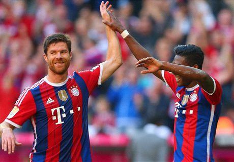 Bayern thump Werder 6-0