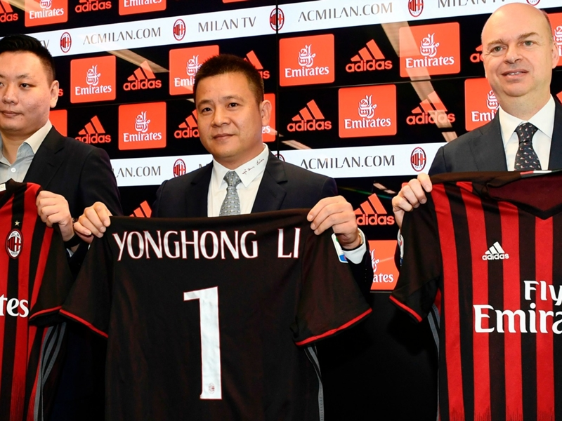 Who is Yonghong Li and AC Milan's new Chinese owners?