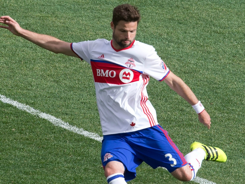 Toronto FC's Drew Moor out with irregular heartbeat