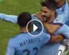 El golazo desde medio campo de David Villa en la MLS