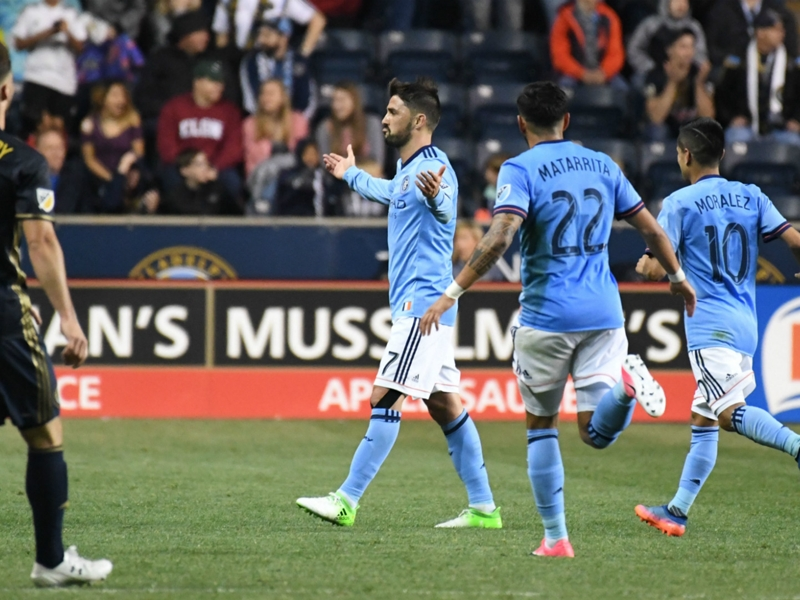 NYCFC halts slide with road win over hapless Union