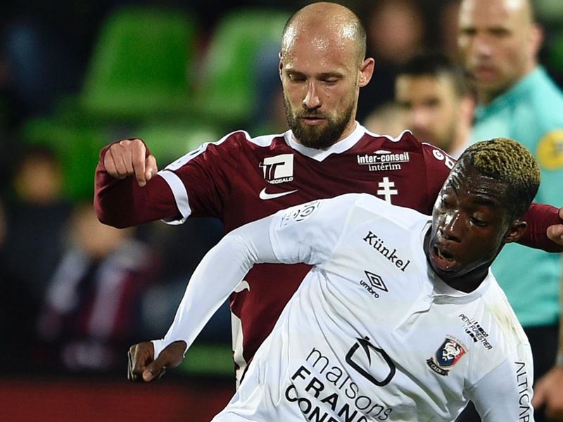 Metz-Caen (2-2), Caen n'a rien lâché
