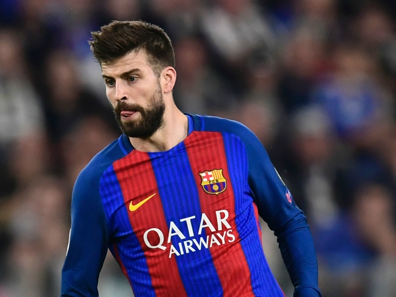 La réaction de Piqué à l'arbitrage de Real Madrid-Bayern Munich