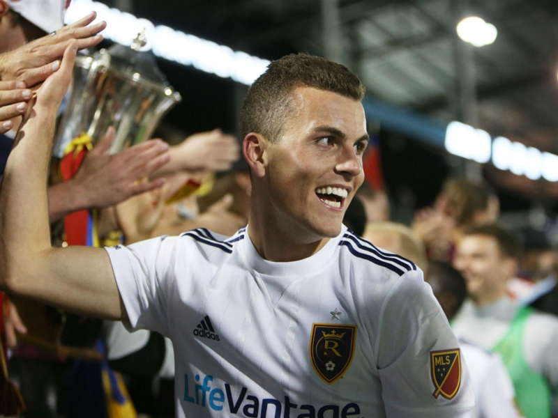 WATCH: Brooks Lennon opens RSL account with derby winner