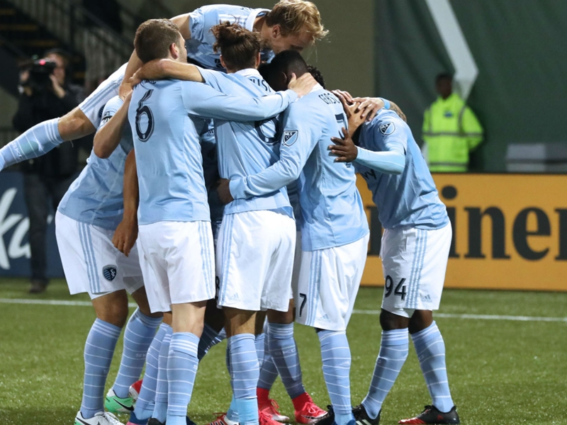 Sporting KC's stingy defense stifles Timbers for big win in Portland