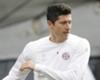 Lewandowski terug op training
