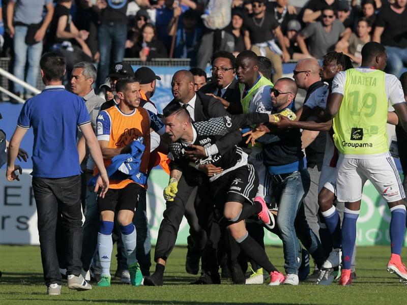 Bastia, le stade corse fermé par la LFP à titre conservatoire