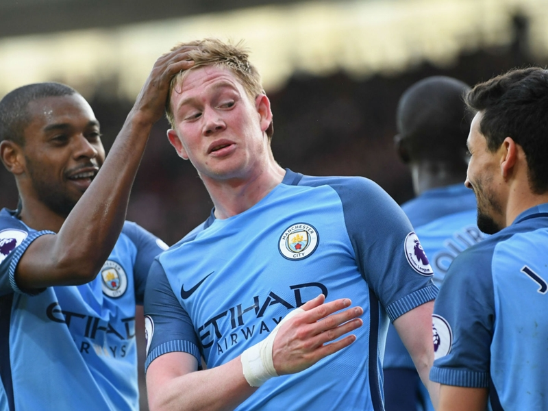 Guardiola: De Bruyne versatility shows he's good and humble