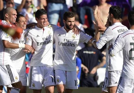 Laporan Pertandingan: Levante 0-5 Madrid
